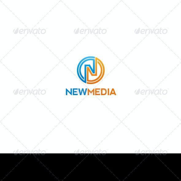 N Letter Logo | Newmedia