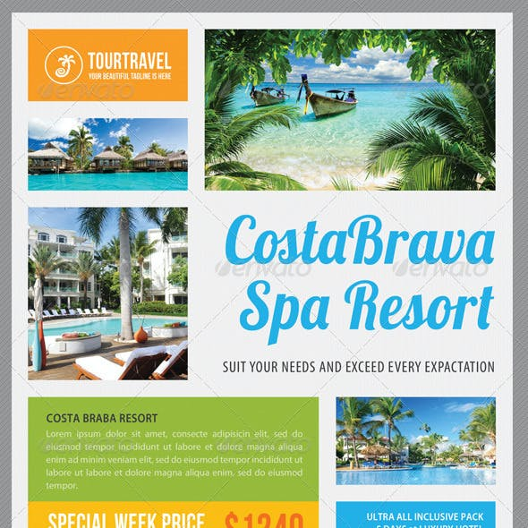Travel Agency Corporate Flyer 06
