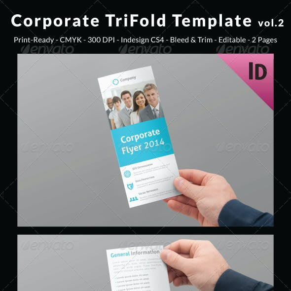 Corporate Trifold Template vol.2