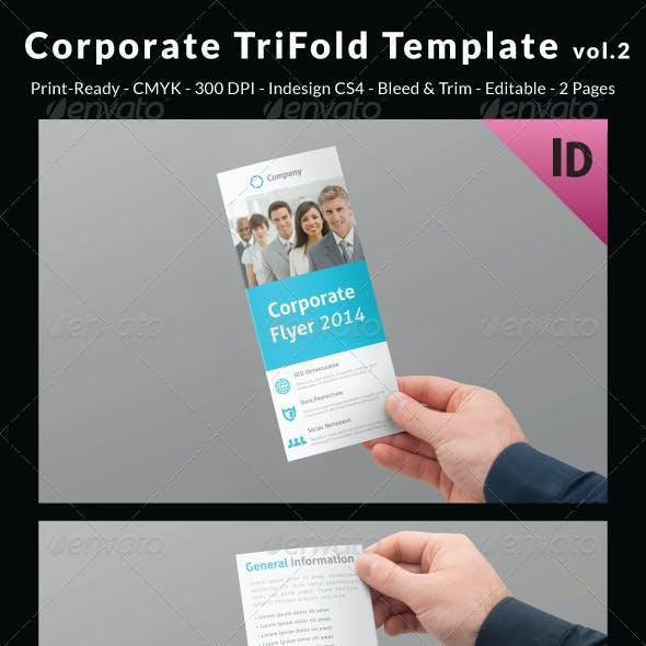 Corporate Trifold Template vol.2