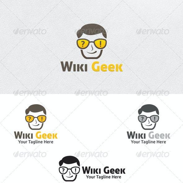 Wiki Geek - Logo Template