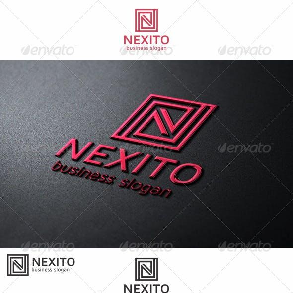 Nexito N Monogram Logo