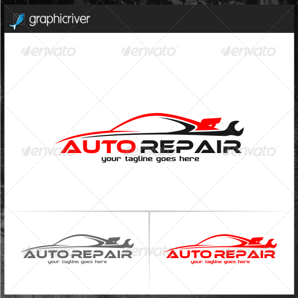 Auto Repair Logo Templates