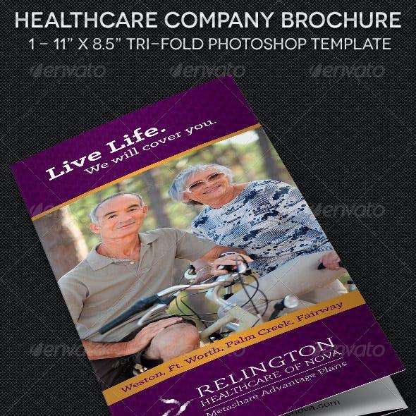 Healthcare Company Brochure Template