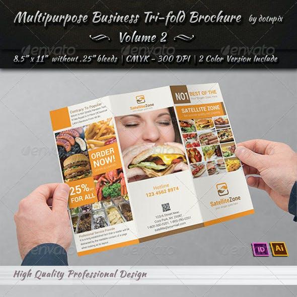 Multipurpose Business Tri-Fold Brochure | Volume 2