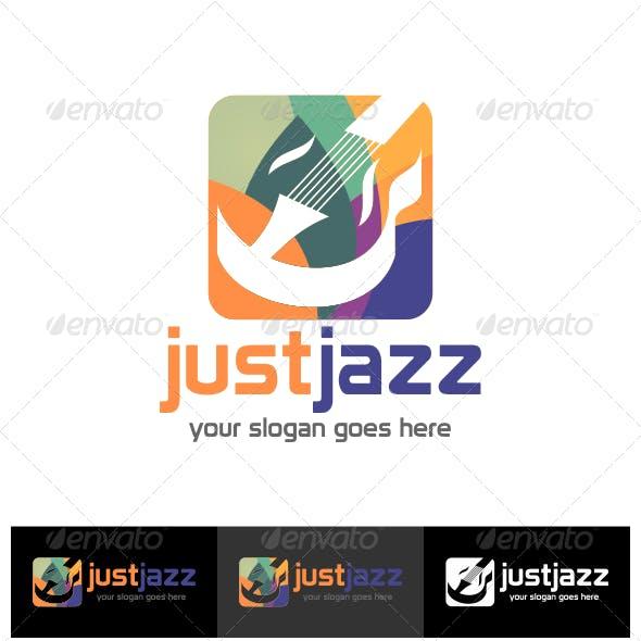 Just Jazz Logo Template