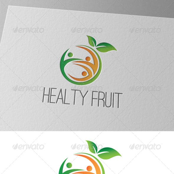 Healty Fruite Logo
