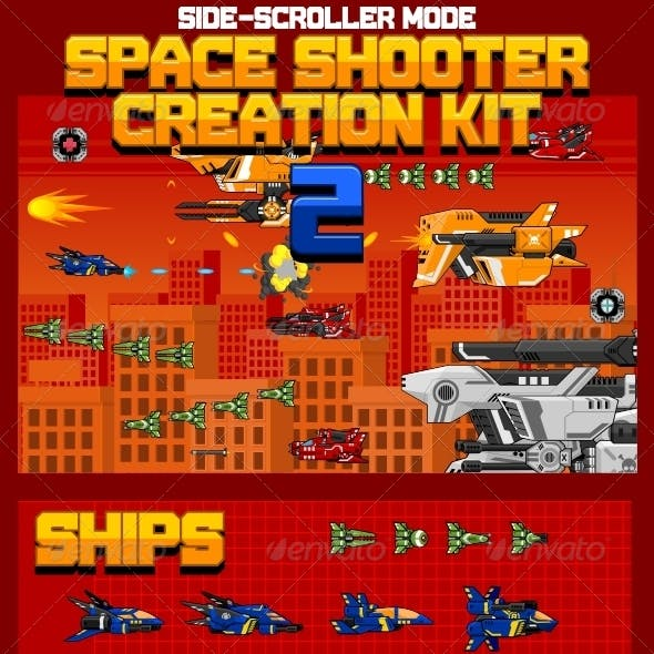 Space Shooter Creation Kit 2