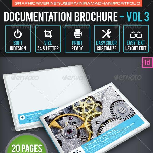 Documentation Brochure   Volume 3
