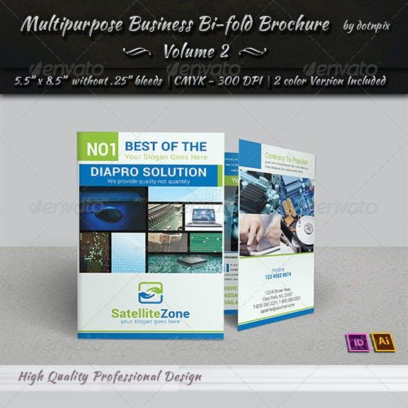 Multipurpose Business Bi-Fold Brochure | Volume 2