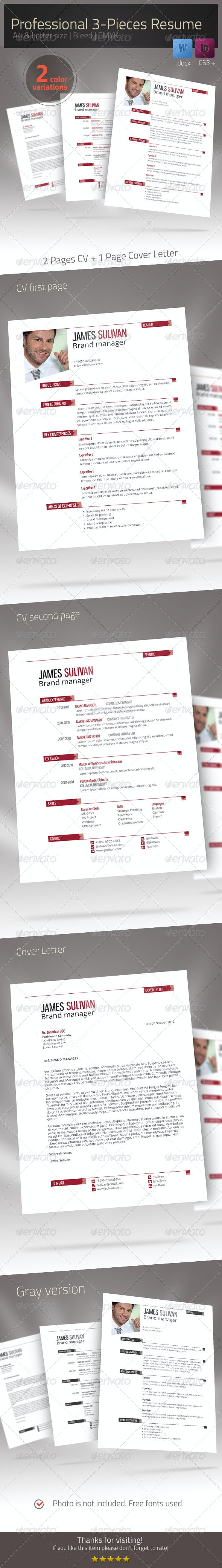 Resume Xtend CV Set - Resumes Stationery
