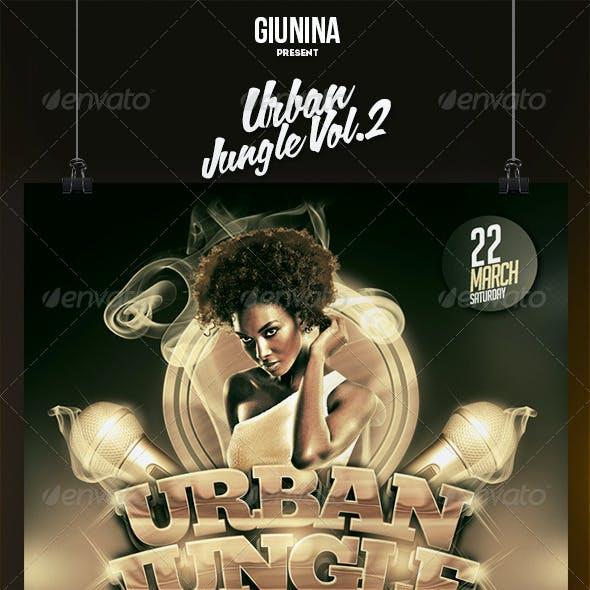 Urban Jungle Vol.2 Flyer/Poster