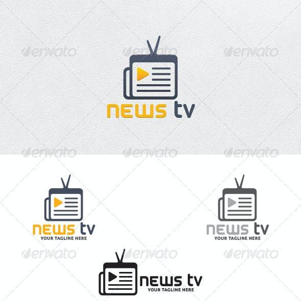 News TV - Logo Template