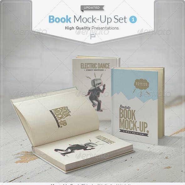 Book Mock-Up Set