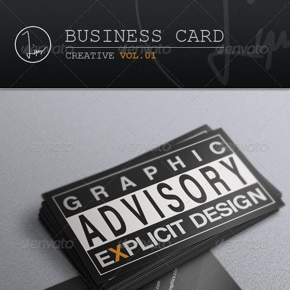 Business Card / Creative Vol.01