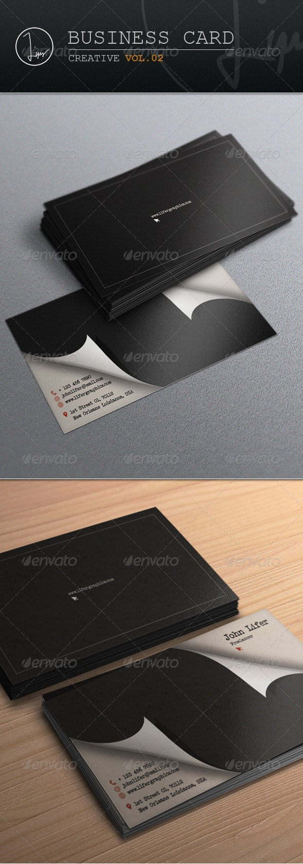 Business Card / Creative Vol.02 - Creative Business Cards