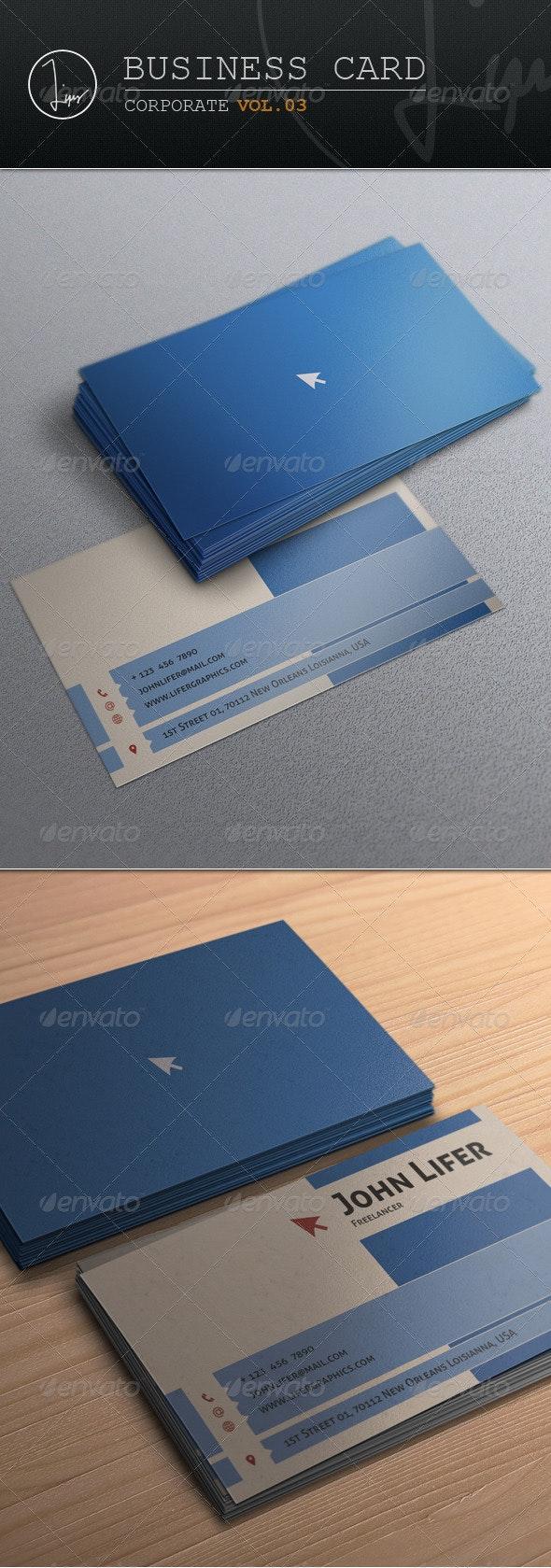 Business Card / Corporate Vol.03 - Corporate Business Cards