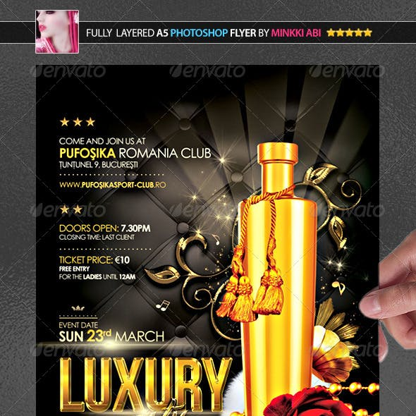 Luxury Party Poster/Flyer