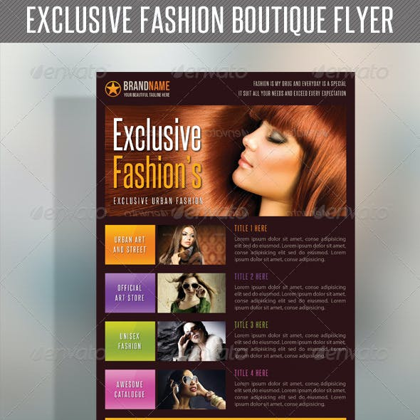 Fashion Product Flyer 40
