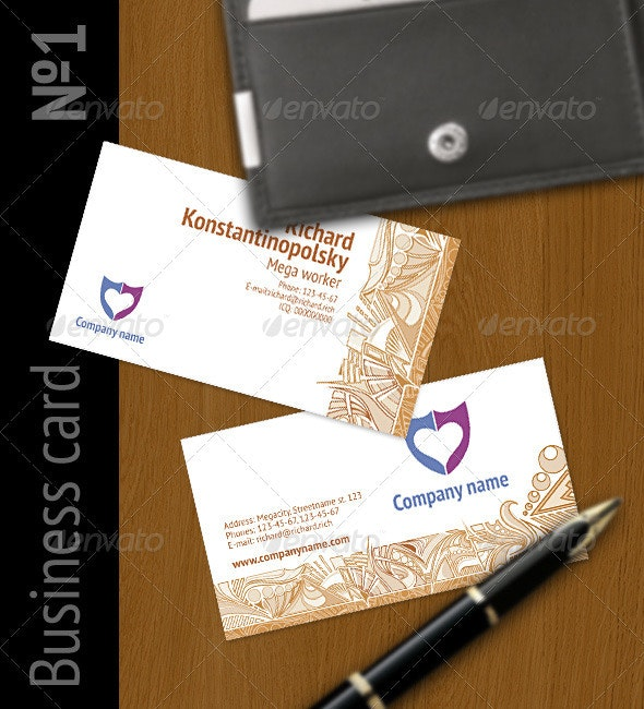 Business Card #1 - Creative Business Cards