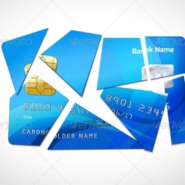 Debt Bankruptcy Symbol