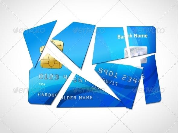 Debt Bankruptcy Symbol - Concepts Business