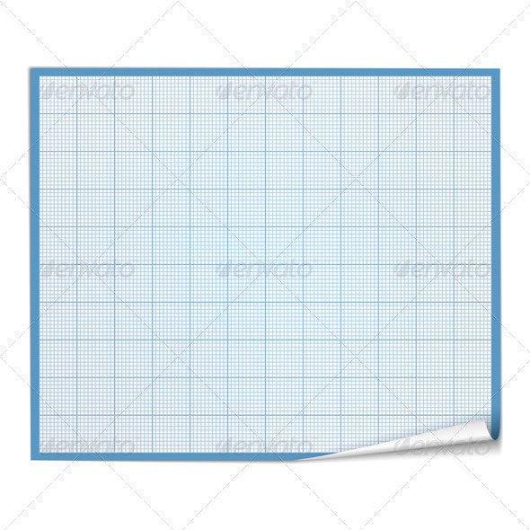 Graph Paper - Objects Vectors
