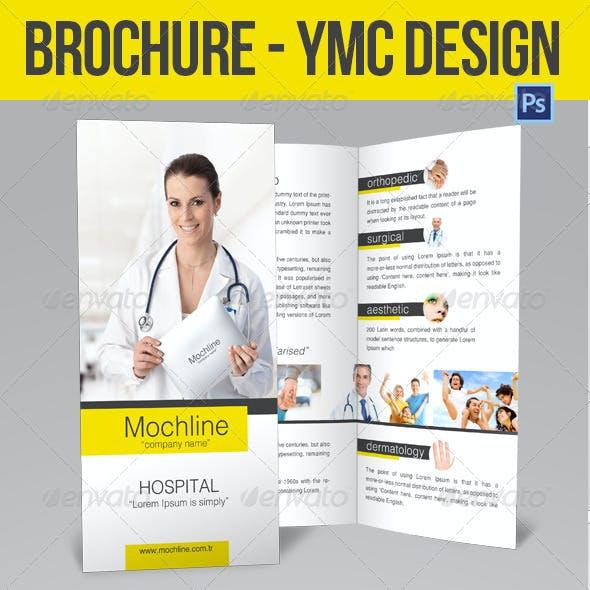 Brochure Health ymc Design
