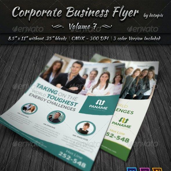 Corporate Business Flyer | Volume 7