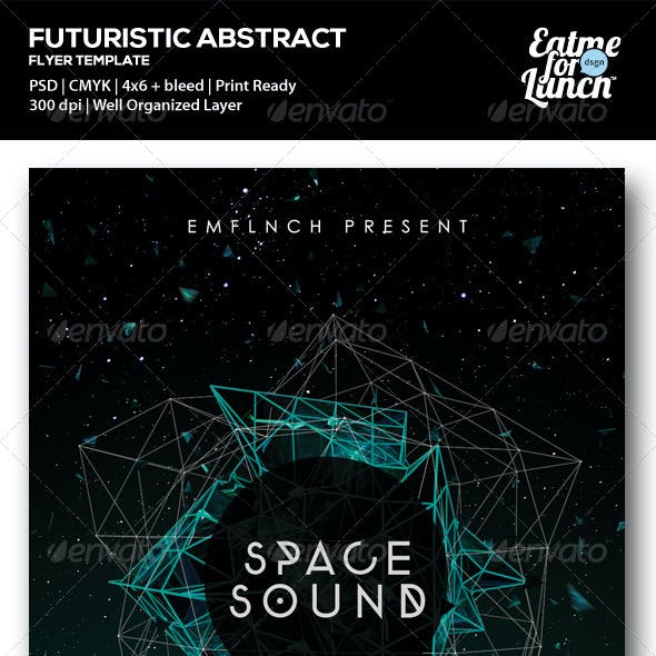 Futuristic Electronic/Club Flyer Templates
