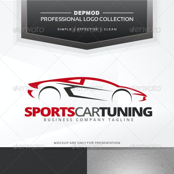 Sports Car Tuning Logo