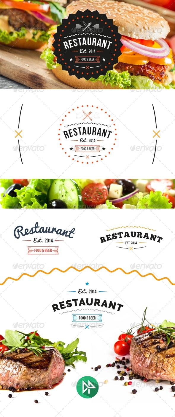 Restaurant Logo Template. - Restaurant Logo Templates