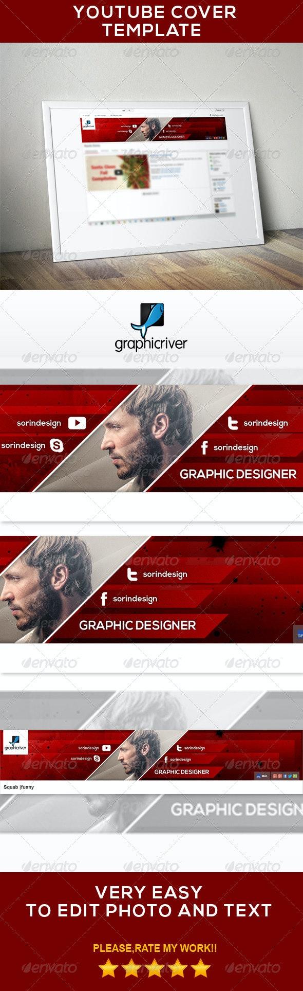 Modern Youtube Banner - YouTube Social Media