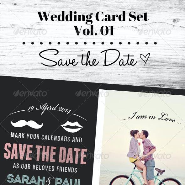 Wedding Card Set Vol. 01