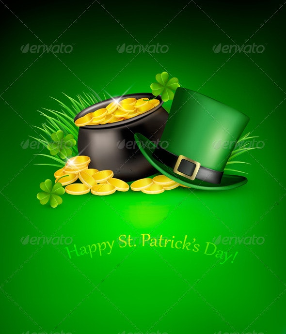 Saint Patrick's Day Background - Miscellaneous Seasons/Holidays