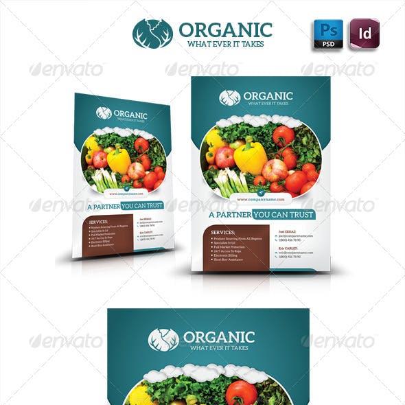 Organic Flyer Templates