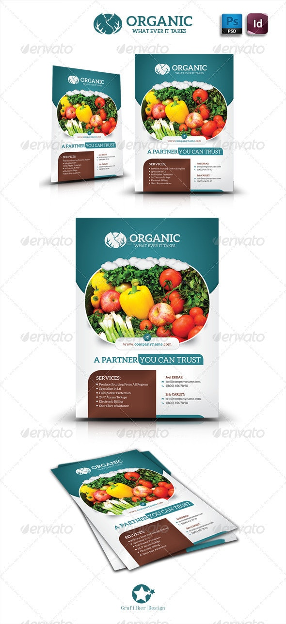 Organic Flyer Templates - Corporate Flyers