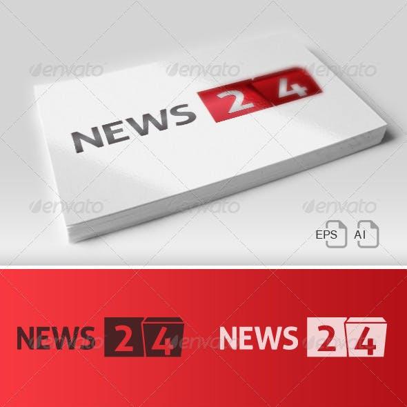 News 24 Bis / Logo