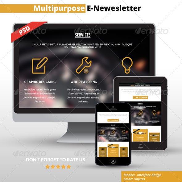 Multipurpose E-Mail Template 05
