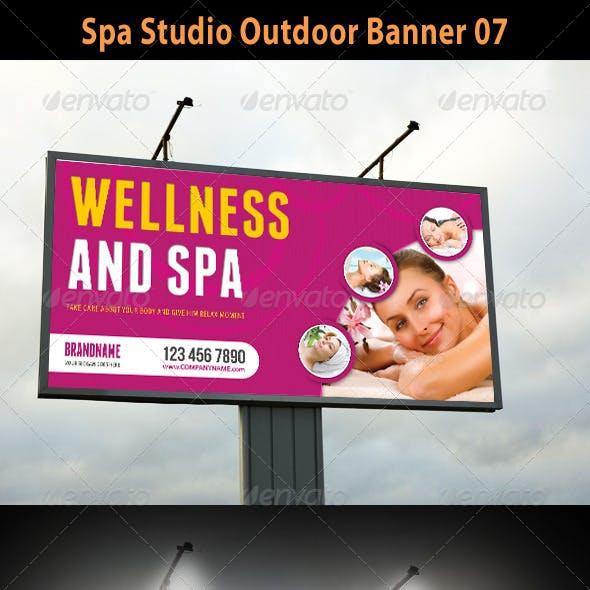 Spa Studio Outdoor Banner 07