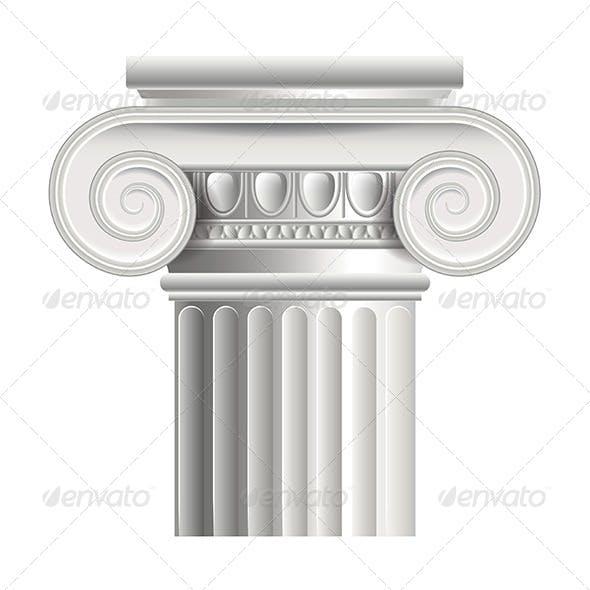 Roman or Greek Column