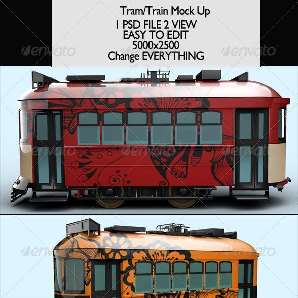 Tram/Train Mock-Up