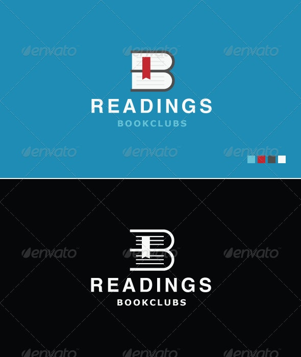 Readings - Logo Template - Objects Logo Templates