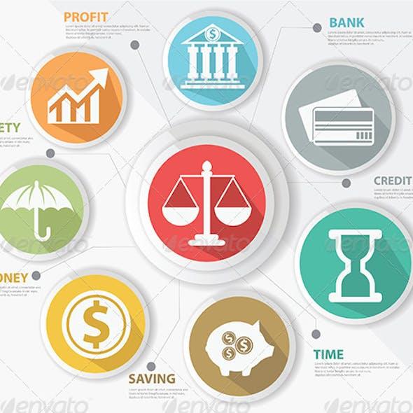 Finance Concept Infographics
