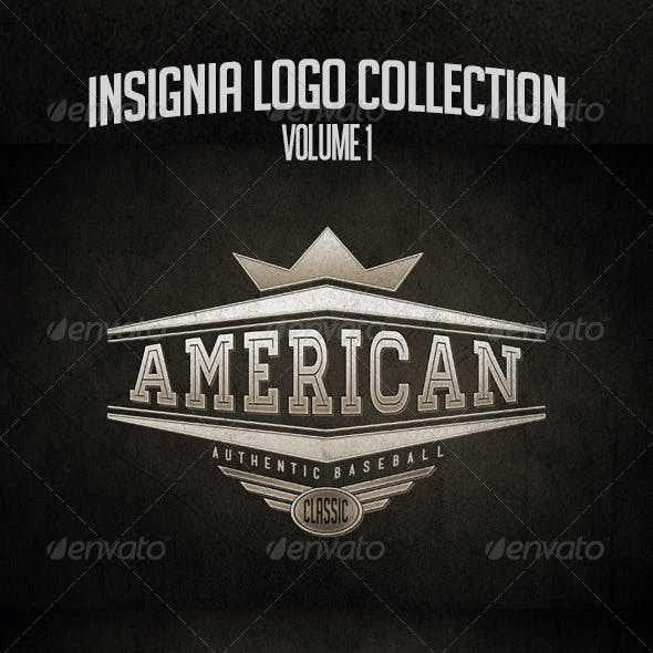 Insignia, Badge and Logo Collection Vol. 1