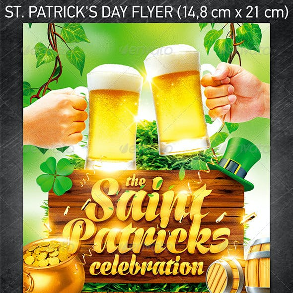 St. Patrick's Day Flyer Vol.4