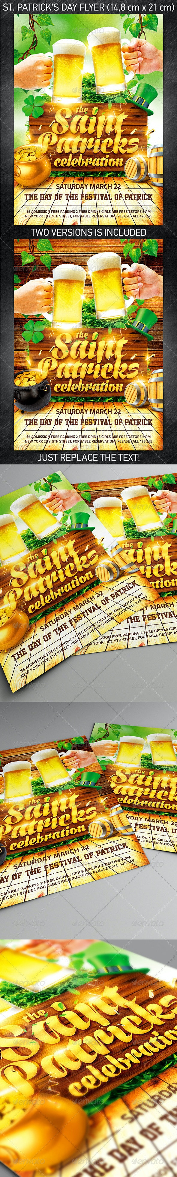 St. Patrick's Day Flyer Vol.4 - Holidays Events