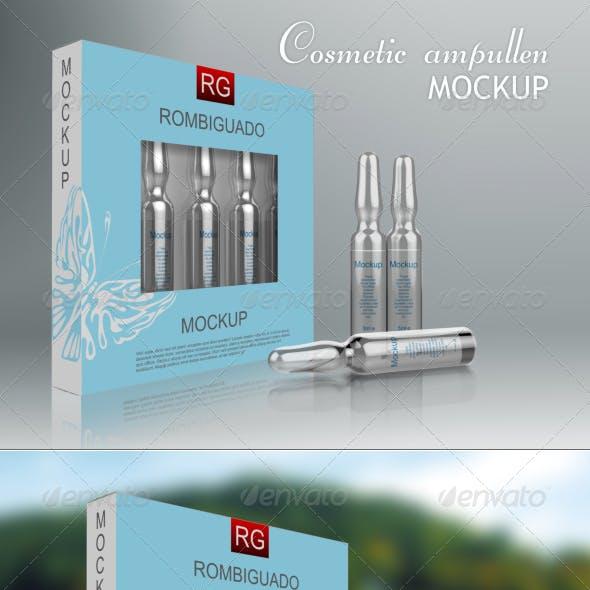 Cosmetic Ampullen Mockup