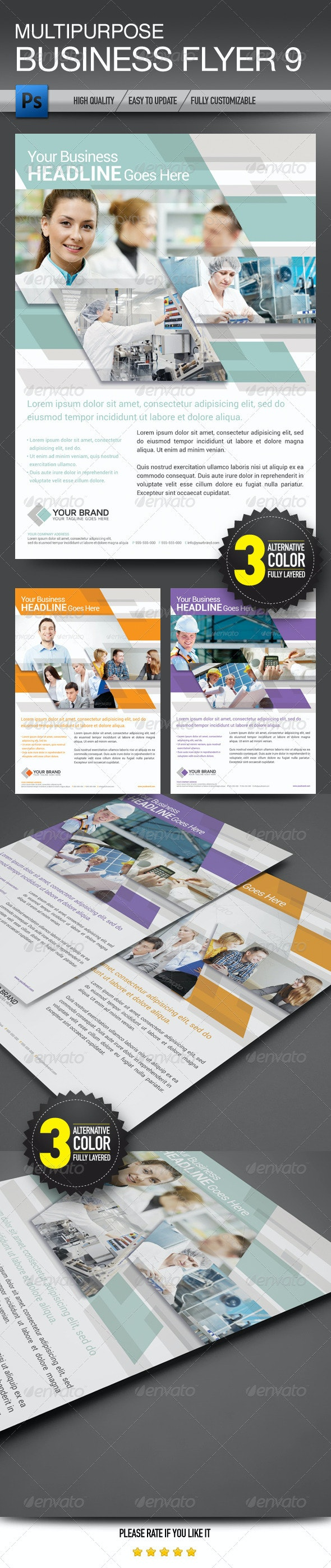 Multipurpose Business Flyer 9 - Corporate Flyers