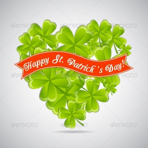 Clovers Greeting Card - Flowers & Plants Nature
